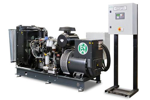 Diesel generator sets by E  Van Wingen